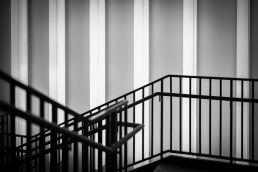 Eine Architekturfotografie in einem Museum in München